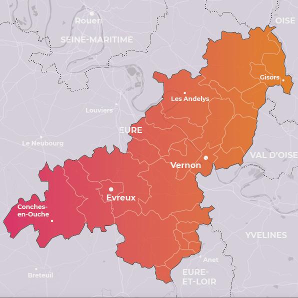 Territoire Evreux